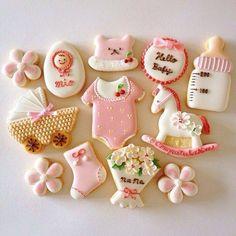 Baby shower cookies 63