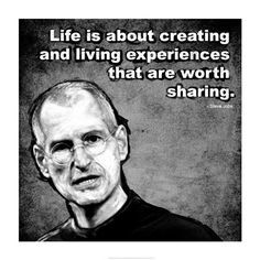 Steve Jobs Quote II Poster by Unknown x Brainy Quotes, Hd Quotes, Life Quotes, Inspirational Quotes, Famous Quotes, After Life, Survival Tips, Survival Skills, Fishing Tips