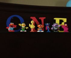 Sesame Street party decorations