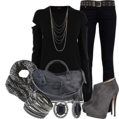 """""""Untitled #300"""" by lisamoran on Polyvore"""