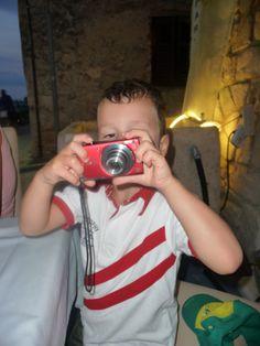 The very last second of Eszi's brand new camera.