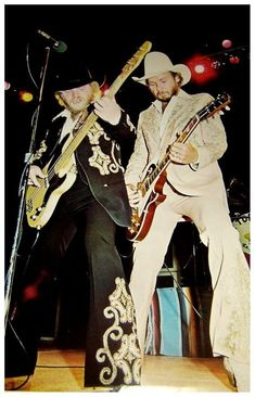 Dusty Hill and Billy Gibbons of ZZ Top Blues, Les Paul, Zz Top Concert, Zz Top Band, Billy Gibbons, Rock Posters, Concert Posters, Best Rock, Rock Legends
