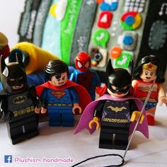 #DreamBig ! #WonderWoman #Batgirl #Batman #Superman #Spiderman #Handmade #SamsungGalaxyS6 #Toyphotography