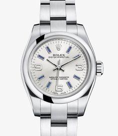 Montre Rolex Lady Oyster Perpetual : Acier904L – 176200
