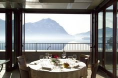 Immaginatevi un pranzo con questa  vista sul Lago d'Iseo al nostro Ristorante Pinocchio