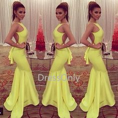 Backless Prom Dress So Sexy Mermaid Long Floor Length by DressOnly, $105.00