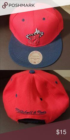 07c50d606fd4b Miami Heat NBA Snap on hat Miami Heat NBA Snap on hat Accessories Hats  Miami Heat