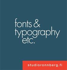 Studio Rönnberg – Typography the way you need it.