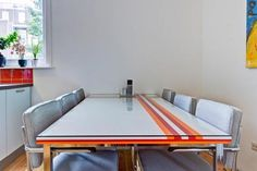 There may be only one thing that inspires more creative customization than IKEA furniture — LEGOs. The little plastic bricks show up in a lot of projects, some more grown up that others. Joost used his LEGOs to create a streamlined and sophisticated modern tabletop placed on an IKEA Tosby frame.