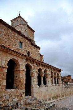 Iglesia de Nuestra Señora del Rivero, San Esteban de Gormaz. Soria.