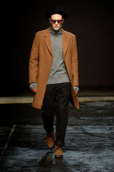 Oliver Spencer – Collection Homme Automne/Hiver 2014 – Londres #london #runway #menswear #fashionweek #trends #winter2014 #luxe #oliverspencer