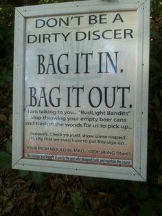 Disc Golf - Dirty Discer