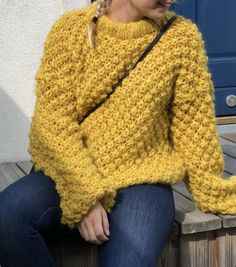 Pullover, Wool, Knitting, Yellow, Sweaters, Pattern, Collection, Style, Fashion