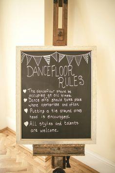Dance floor fun via Love My Dress® UK Wedding Blog / Photography by Kat Hill
