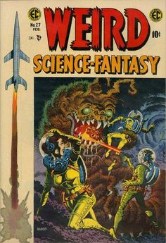 Wally Wood's cover for Weird Science-Fantasy #27