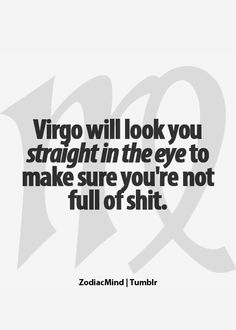 Virgo Zodiac Mind - Your source for all fun zodiac related content! Leo Virgo Cusp, Virgo Traits, Virgo Love, Virgo Horoscope, Virgo Zodiac, My Zodiac Sign, Zodiac Facts, Horoscopes, Astrology