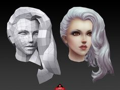 3D 게임그래픽 얼굴 와이어 흐름 자료입니다. : 네이버 블로그 3d Model Character, Character Modeling, Game Character, Character Concept, Character Design, Zbrush, Polygon Modeling, Polygon Art, Hand Painted Textures
