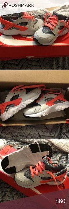 best sneakers bc4a0 69abd Nike Huarache Run ( PS) New In Box New Running Shoes From Nike SIze 11C