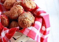 Cranberry Eggnog Muffins (1) From: Cooking Bride, please visit
