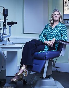 Susannah Constantine (pictured) details having eye surgery, after being unexpectedly diagnosed with cataracts aged 55 Susannah Constantine, Lasik Eye Surgery, Going Blind, The Retina, Head Injury, Tv Presenters