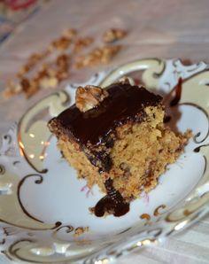 Cook No12: Νηστίσιμη καρυδόπιτα με σούπερ σιρόπι σοκολάτας