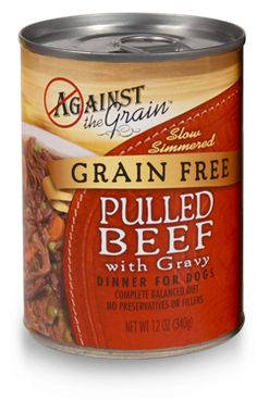 Against the Grain Dog Food Recall of February 2017 | Feb 14, 2017 — Against the Grain Pet Food is voluntarily recalling one lot of Against the Grain Pulled Beef with Gravy Dinner for Dogs because it may be contaminated with pentobarbital. Click for specific product recall and refund details.