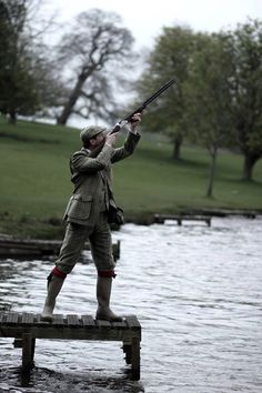 """woodburning: """"Tweed by Twelve Bore Tailoring, at Ripley Castle. """""""