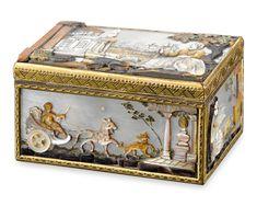 Antique Snuff Box, Antique Gold Box, Antique German Box | M.S. Rau Antiques