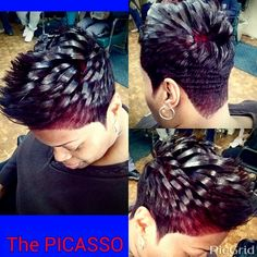 The Picasso of hair