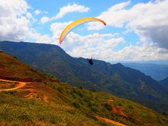Cañon del Chicamocha, Colombia Paragliding, Bella, Mountains, Places, Nature, Travel, National Parks, Norte, Colombia