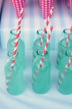 Maybe a use for those Starbucks bottles?! Love those straws!
