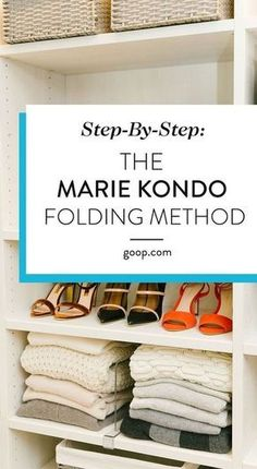 KonMari Method – Folding Guide For Clothes Organization tips to get your living room in order. We've laid out the basics of the Marie Kondo approach along with an illustrated guide to her folding technique. Deep Cleaning Tips, House Cleaning Tips, Spring Cleaning, Cleaning Hacks, Diy Hacks, Organisation Hacks, Home Organization, Dresser Drawer Organization, Clothing Organization