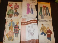 Inventory 106 Vintage Sewing Patterns this is a by RomanceWriter