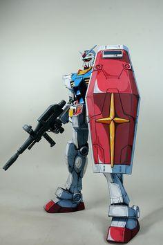 Mega Size 1/48 RX-78-2 Gundam 'Anime Colors' - Painted Build Modeled by namkipok