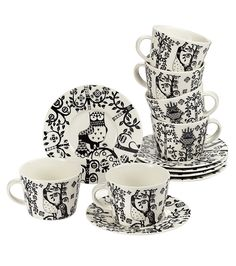 Iittala, Taika tableware black and white