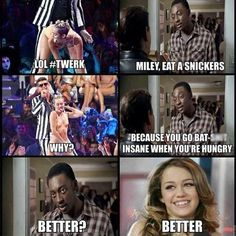 Miley Cyrus Snickers