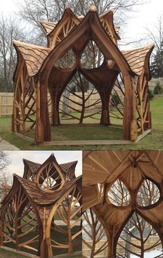 🧜‍♀️🐋⚙️Home Decor Project Ideas & Tutorials🧜‍♀️🐋⚙. gazebos diy 🧜‍♀️🐋⚙️Home Decor Project Ideas & Tutorials🧜‍♀️🐋⚙… Garden Art, Home And Garden, Mosaic Garden, Garden Paths, Outdoor Living, Outdoor Decor, Pergola Plans, Play Houses, Wood Houses