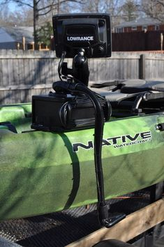 lowrance 7 hdi fish finder mounted onto a hobie outback fishing, Fish Finder