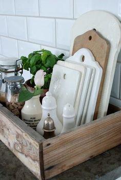 Reclaimed Wood tray, Barn Wood, Farmhouse Decor, Rustic Home Decor - The Rustic Pelican Farmhouse Side Table, Country Farmhouse Decor, Country Kitchen, Rustic Decor, Farmhouse Style, Modern Farmhouse, Country Chic, Country Lounge, Country Bathrooms