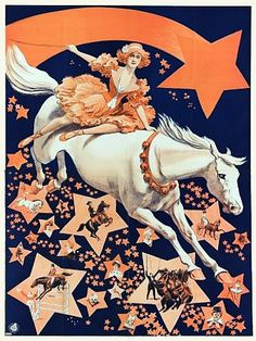 Circus Horses Equestrian Acts 1911 Vintage Posters Prints