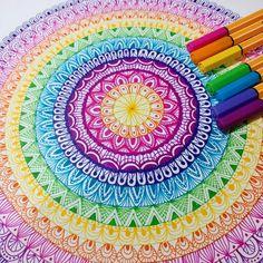 Easy Mandala Drawing, Mandala Sketch, Watercolor Mandala, Mandala Doodle, Simple Mandala, Mandala Art Lesson, Mandala Artwork, Mandala Book, Geometric Mandala