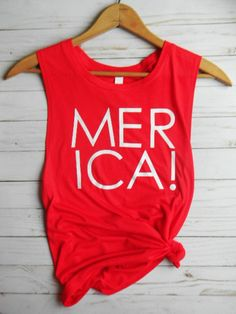 Merica Tank Top, Merica Shirt, Merica Tank, Summer Tank Top, Summer Tank, Workout Tank Top, Beach Tank, Yoga Tank Top, Womens Workout Tank. #USA #4thofjuly #america