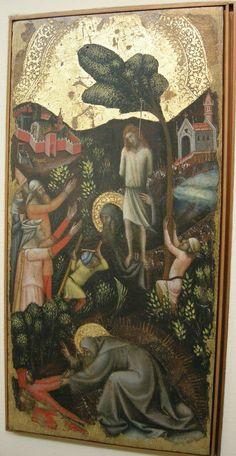 Vitale_da_Bologna. Storie di S. Antonio Abate, Bologna, Pinacoteca Nazionale. Bologna, St Ignatius, Medieval World, National Art, 14th Century, Renaissance, Gothic, Art Gallery, Museum