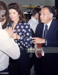 Photo d'actualité : Jackie Onassis during Jackie Onassis Sighting at...