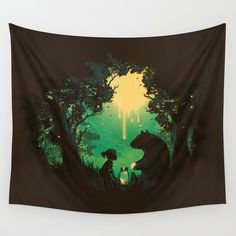 The Conversationalist Wall Tapestry