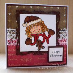 Winter Christmas, Gingerbread, Panda, Joy, Frame, Sweet, Happy, Design, Decor