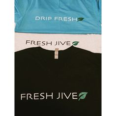 VAPE POSITIVE - FRESH JIVE TRI BLEND V NECK