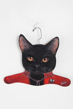 Animal Clothes Hanger from Urban Outfitters - more styles there.
