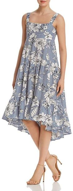 Do and Be Tiered Floral Print Dress Women - Dresses - Bloomingdale's Short Dresses, Summer Dresses, Holiday Outfits, Dress Codes, Maternity Fashion, Clothing Items, Pretty Outfits, Dresses Online, Fashion Looks