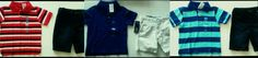 New Toddler boy 2pc sz 3T 4T Children's Place red, blue, stripe or solid outfit…